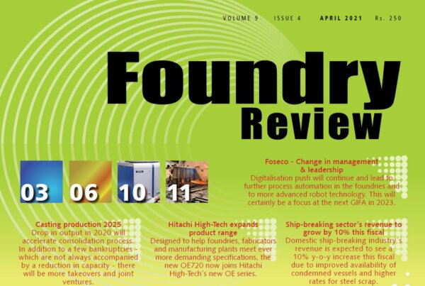 MELTING 4.0 in FOUNDRY REVIEW 04-2021